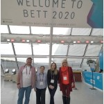 Promoting CE project at BETT 2020